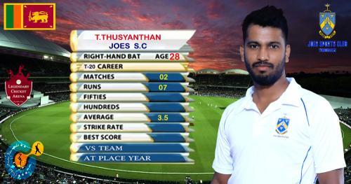 T.THUSYANTHAN